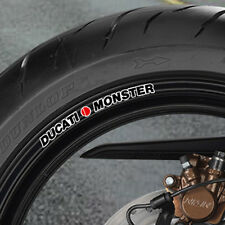 Ducati Monster Wheel Rim Stickers Many Colours