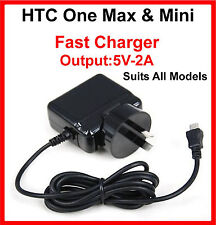 HTC One Max 803S 4G One Mini 601S 601E AC Wall Charger Adaptor  Suits All Models