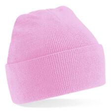 Bonnet couleur Rose ' Classic'  Sport marque Beechfield pink beanie 20 coloris