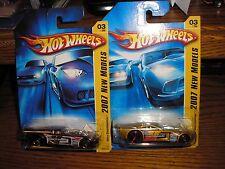 New Lot of 2 Diff Hot Wheels Nitro Doorslammers Funny Cars 2007 New Models #03