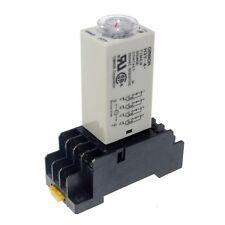 220V H3Y-4 Power On Time DelayRelay Solid-State Timer0.5~10Min 4PDT 14Pin&Socket