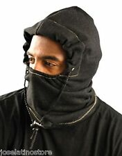 OccuNomix 3 in 1 Fleece Balaclava Winter Liner  Flame Resistant Charcoal Black