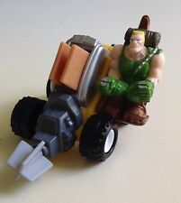 Burger King Small Soldiers King Commando Chip Hazard Motorcycle  Cake Topper