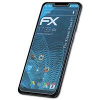 atFoliX 3x Pellicola Protettiva per Xiaomi Poco F1 chiaro