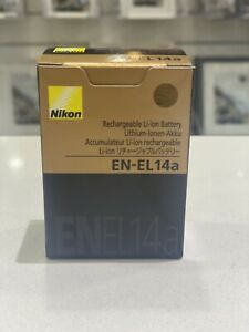 nikon en-el14a battery- genuine