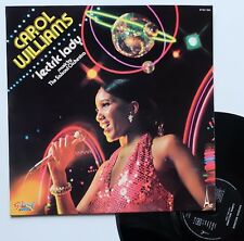 """LP Carol Williams / The Salsoul Orchestra """" 'Lectric lady"""" - (EX/EX)"""