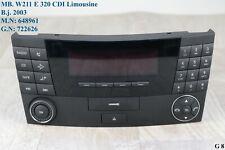 Mercedes W 211 Auto Radio CK 1211 CD Radio Player Kassette Telefon A 2118200879