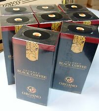 10 Scatole Organo Gold Black Coffee Caffè Nero Ganoderma Lucidum
