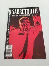 Sabretooth #3 Mary Shelly Overdrive (Oct 02 Marvel) October  2002 Jolley Scott