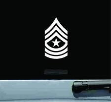 united states army sergeant major SGM E-9 rank insignia vinyl decal sticker USA