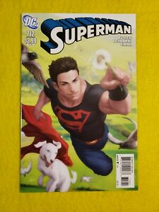 SUPERMAN # 712 Variant, Stanley Artgerm Lau  Superboy Krypto cover
