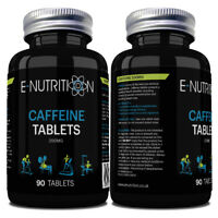 POWERFUL CAFFEINE 90 TABLETS 200mg | ENERGY BOOST PILLS | PRE WORKOUT 100% PURE