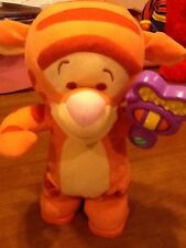 "Fisher Price Disney MAGIC RATTLE TIGGER 12"" 2003 Mattel"