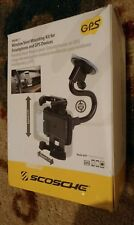 Scosche Mobile Windshield and Vent Mount Kit Cell Phone Holder GPS Car Air Vent