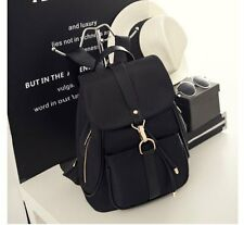 New Black Women's Oxford Canvas Backpack Shoulder Laptop/iPad Fashion Bag BP020