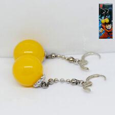 Yellow Earring Anime DBZ Dragon Ball Z Super Saiyan Vegetto Potara Cosplay
