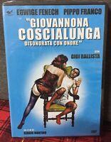 Giovannona Coscialunga Disonorata Con Onore DVD Nuovo Sigillato Edwige Fenech