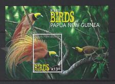 PAPUA NEW GUINEA 2017 BIRDS SOUVENIR SHEET UNMOUNTED MINT, MNH