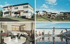 Restaurant & Camping Au Bonnet Rouge SAINT-JEAN-PORT-JOLI Quebec Canada Postcard