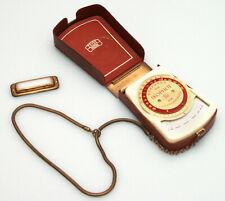 Zeiss Ikon Ikophot Light Meter - with Case, Wriststrap, + Incident Diffuser