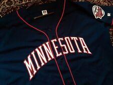 Vtg Russell Minnesota Twins Authentic Baseball Jersey 52 XL VERY NICE
