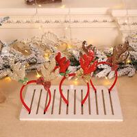 Christmas Headbands Fancy Reindeer Antlers Hairband Xmas Kids Party Deco_AU