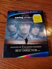 Saving Private Ryan (Blu-ray, 2010, 2-Disc Set, Sapphire Series) w Slipcover