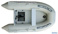 8.9 ft INFLATABLE BOAT with AIR FLOOR tender yacht dinghy fishing camping