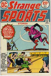 """HOT RARE DC Comics' """"Strange Sports Stories"""" vol. 1 # 1 October 1973"""