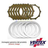 KIT 15 dischi frizione guarniti + metallici HONDA CRF450X 2005-17 VERTEX
