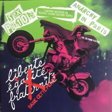 Sex Pistols - Anarchy In Paris Limited Edition On Filthy Lucre Silver Vinyl LP