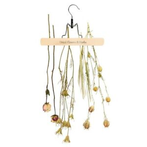 HANGING RACK FOR DRYING DRIED FLOWERS HERBS GARDEN