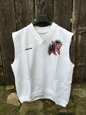 Vintage 1990s Adidas Stefan Edberg Sweater Vest XL XXL OG nastase stan smith
