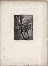 L'etourdi Dessin Vernet GravureMuller datée 1818