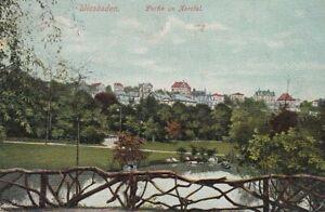 Wiesbaden Partie im Nerotal glum 1910? D1340