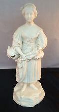 Near Antique Porcelain Figurine-Unglazed Limitied Edition-Unknown Origin-1930's