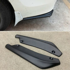 Car Rear Bumper Lip Splitter Spoiler Chin Lip Skirt Protector ABS Plastic Black