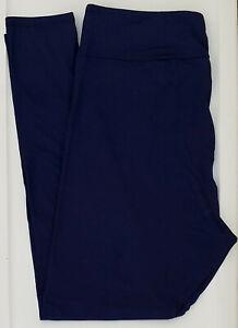 TC LuLaRoe Tall & Curvy Leggings Beautiful Solid Navy Blue NWT 51