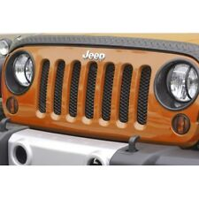 RUGGED RIDGE 11401.31 Mesh Grille Insert Black For 07-17 Jeep Wrangler JK