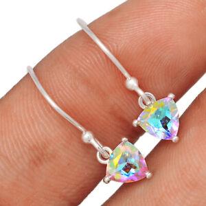Mercury Mystic Topaz 925 Sterling Silver Earrings Jewelry BE64640