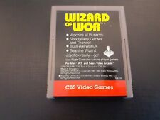 Wizard of Wor cbs electronics for the Atari 2600.tested and working cartridge