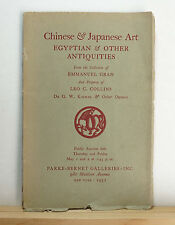 Chinese Early Dynastic & Other Pottery & Porcelain 5/1/1952 Sotheby's Ceramics