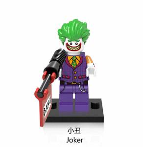 Joker lvy Minifigures DC Thor Loki Infinity War End Game Super Heroes Marvel LEG