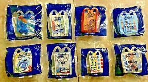 FULL SET 8 Toys ~ McDonald's 2021 HASBRO CLASSIC Family Games Happy Meal Toys