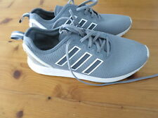 Mens Adidas ZX Flux Grey Trainers - Size 8 / 42