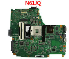 For Asus N61JQ N61JA REV:2.1 Laptop Motherboard Mainboard Support  I7 CPU