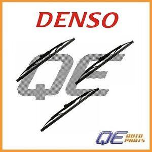 3 Front Right Windshield Wiper Blade 1601113 Denso for: Kia Nissan Aston Martin