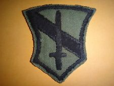US I FIELD FORCE In VIETNAM USARV - Vietnam War Hand Sewn Subdued Patch