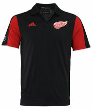 Adidas NHL Men's Detroit Red Wings 2017 Authentic Game Day Polo Shirt