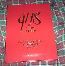 Greenville High School South Carolina 100 Years of Class 1888 to 1998 GHS SC